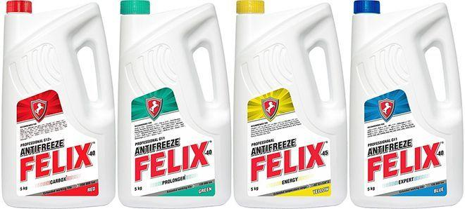 Антифризы Felix – профессиональное качество