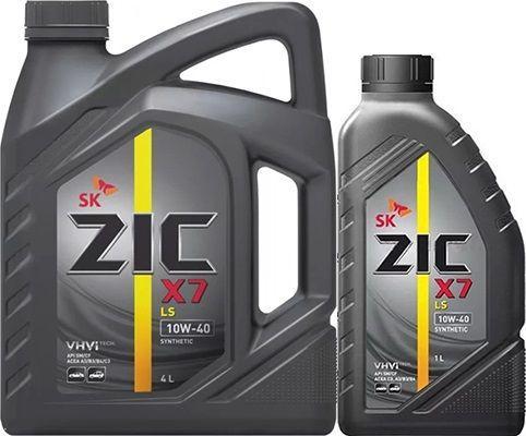 Масло ZIC X7 LS 10W40: моторное, синтетическое