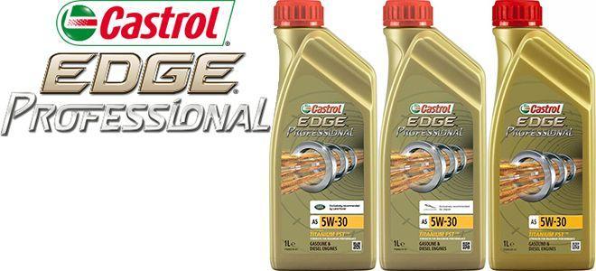 Масло Castrol EDGE Professional A5 5W30: моторное, синтетическое
