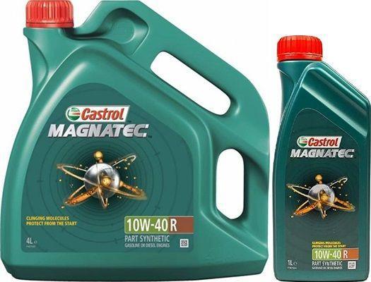 Масло Castrol Magnatec 10W40 R: моторное, полусинтетическое