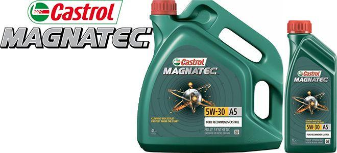 Масло Castrol Magnatec 5W30 A5: моторное, синтетическое