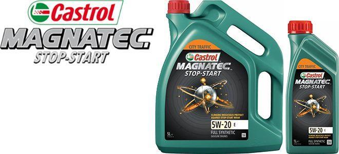 Масло Castrol Magnatec Stop-Start 5W20 E: моторное, синтетическое