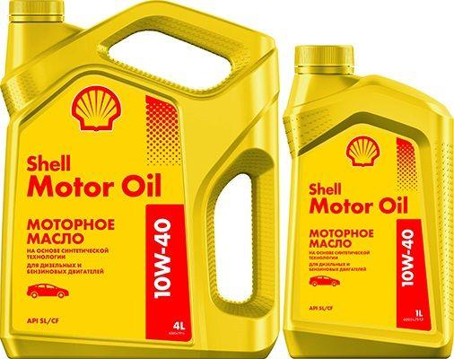 Масло SHELL Motor Oil 10W40: моторное, полусинтетическое