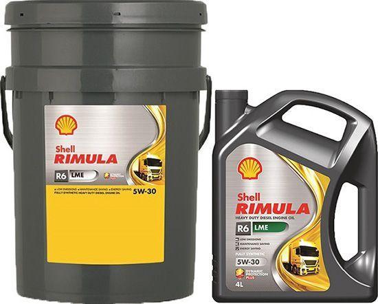 Масло SHELL RIMULA R6 LME 5W30: дизельное, синтетическое
