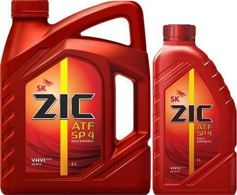 Масло для АКПП ZIC ATF SP4: трансмиссионное, синтетическое
