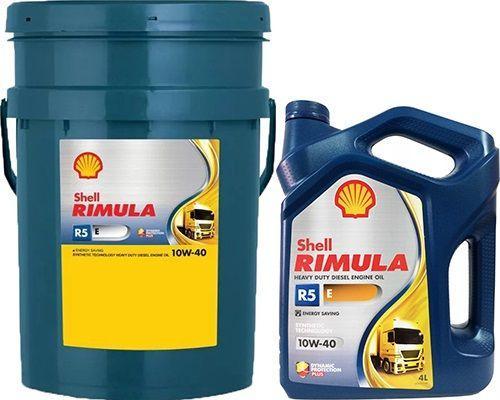 Масло SHELL Rimula R5 E 10W40: моторное, полусинтетическое