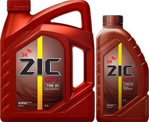 Масло для МКПП ZIC GFT 75W85: трансмиссионное, синтетическое