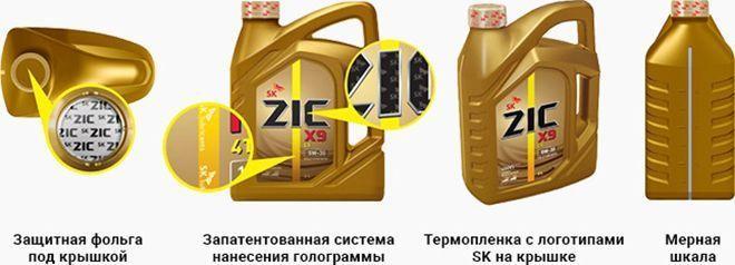 Масло ZIC X9 FE 5W30: моторное, синтетическое