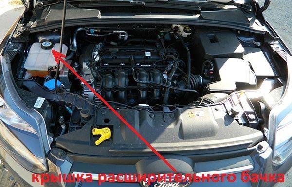 Как поменять антифриз на Форд Фокус 3