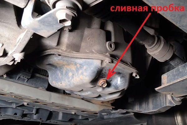 Как поменять масло в двигателе на Ниссан Тиида