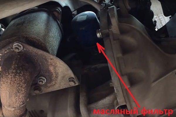 Как поменять масло в двигателе на Шевроле Ланос