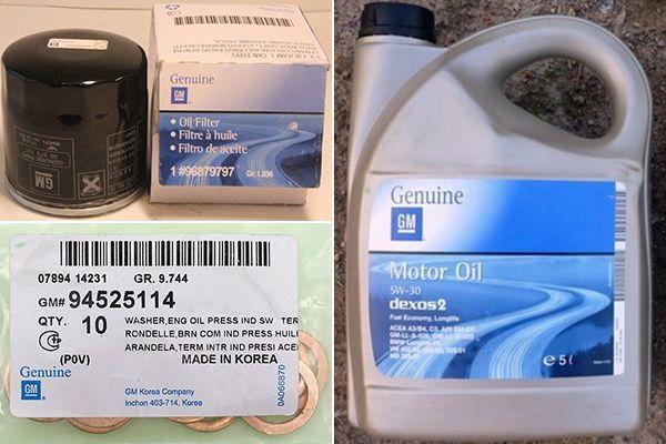 Как поменять масло в двигателе на Дэу Нексия
