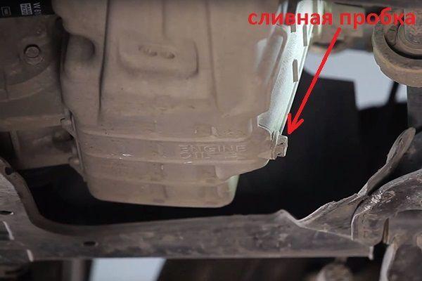Как поменять масло в двигателе на Хонда Фит