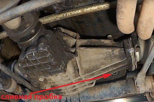 Как поменять масло в двигателе на Нива