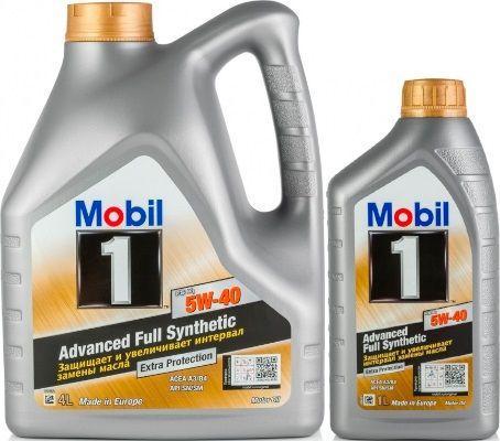 Масло Mobil 1 FS X1 5W-40: моторное, синтетическое