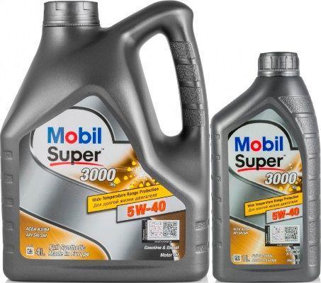Масло Mobil Super 3000 X1 5W-40: моторное, синтетическое