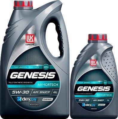 Масло Lukoil Genesis Armortech Diesel 5W-30: моторное, синтетическое
