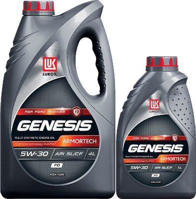 Масло Lukoil Genesis Armortech FD 5W-30: моторное, синтетическое