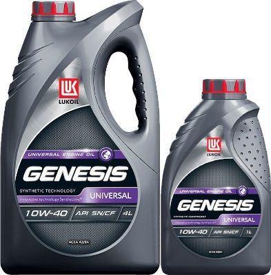 Масло Lukoil Genesis Universal 10W-40: моторное, полусинтетическое