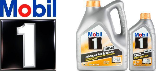Масло Mobil 1 FS 0W-40: моторное, синтетическое