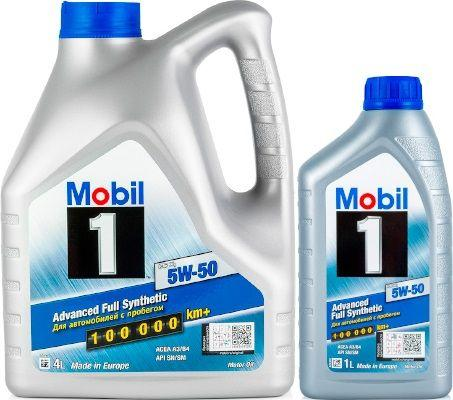 Масло Mobil 1 FS X1 5W-50: моторное, синтетическое