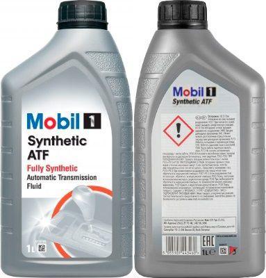 Масло для АКПП Mobil 1 Synthetic ATF: трансмиссионное, синтетическое