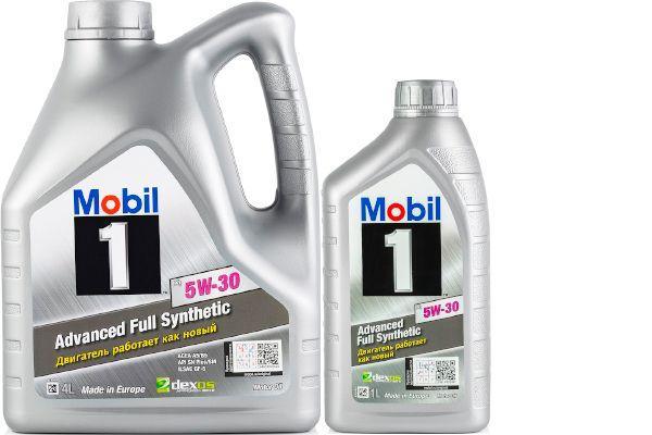 Масло Mobil 1 X1 5W-30: моторное, синтетическое