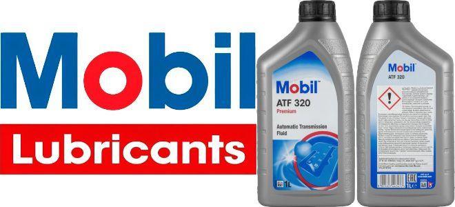 Масло для АКПП, ГУР Mobil ATF 320: трансмиссионное, полусинтетическое