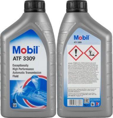 Масло для АКПП, ГУР Mobil ATF 3309: трансмиссионное, полусинтетическое