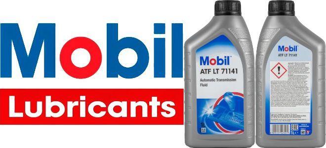 Масло для АКПП Mobil ATF LT 71141: трансмиссионное, полусинтетическое