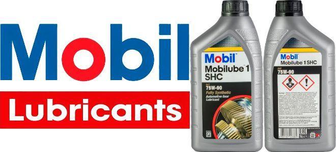 Масло для МКПП Mobil Mobilube 1 SHC 75W-90: трансмиссионное, синтетическое