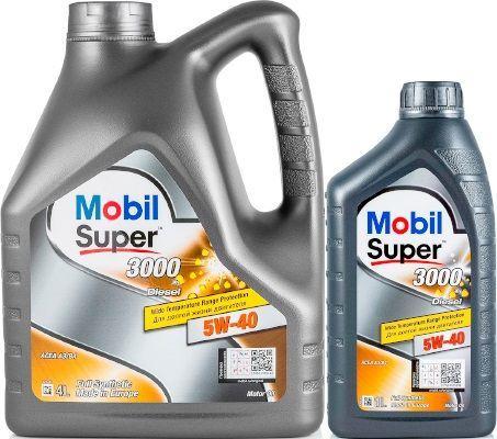 Масло Mobil Super 3000 X1 Diesel 5W-40: дизельное, синтетическое