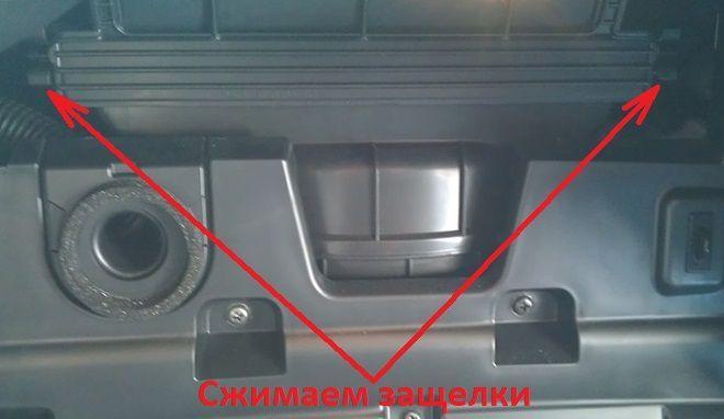 Как заменить салонный фильтр на Киа Церато 3