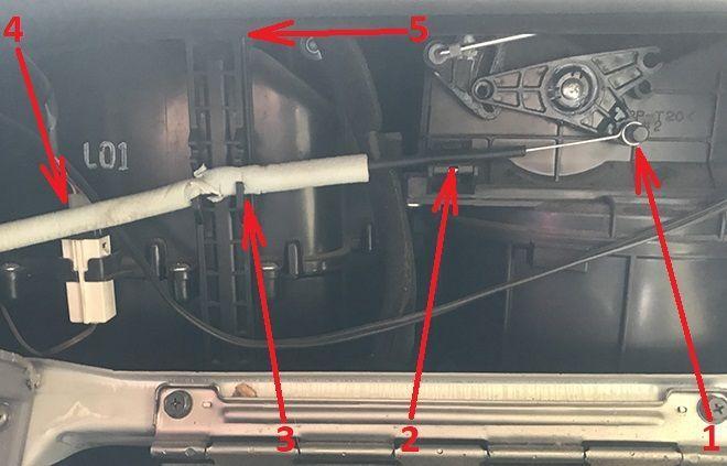 Как заменить салонный фильтр на Хендай Акцент 2