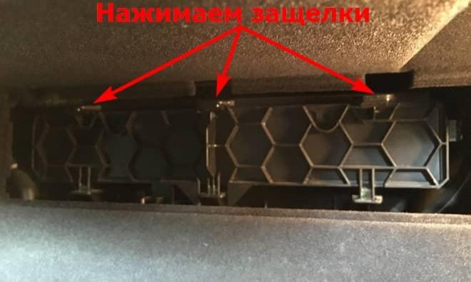 Замена салонного фильтра Суперб 1-го поколения. Фото, инструкция как поменять салонный фильтр на Шкоде Суперб