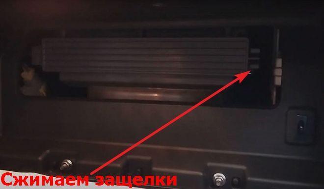 Как заменить салонный фильтр на Киа Селтос
