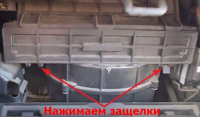 Как заменить салонный фильтр на Хендай Матрикс
