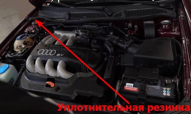 Как заменить салонный фильтр на Ауди ТТ 1 8N