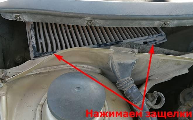 Как заменить салонный фильтр на Фольксваген Бора А4